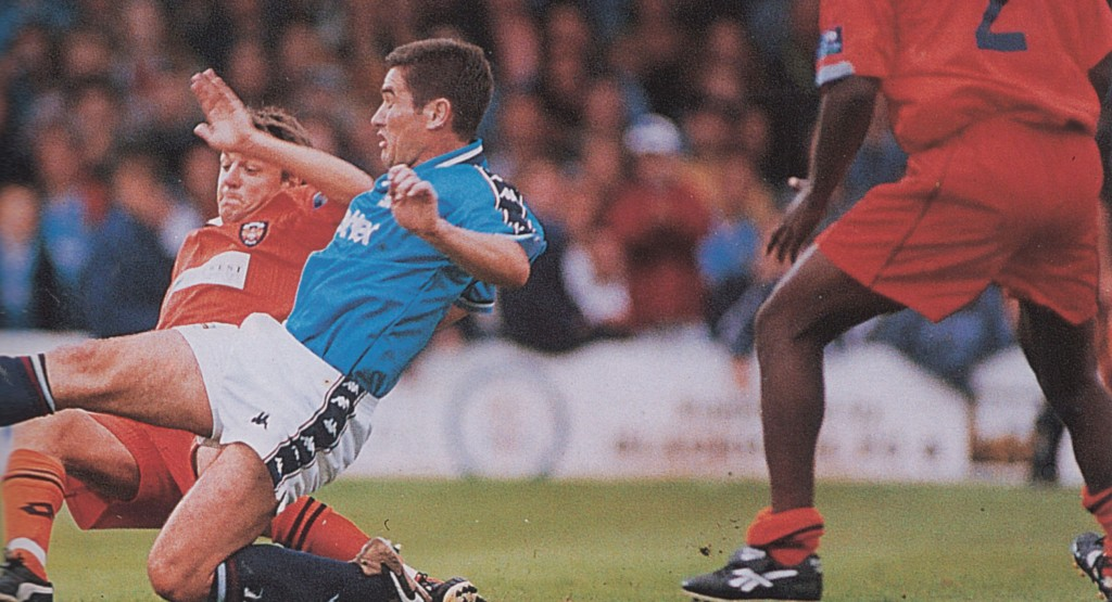 blackpool friendly 1997 to 98 clough goal6