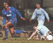 chelsea home 1994 to 95 action