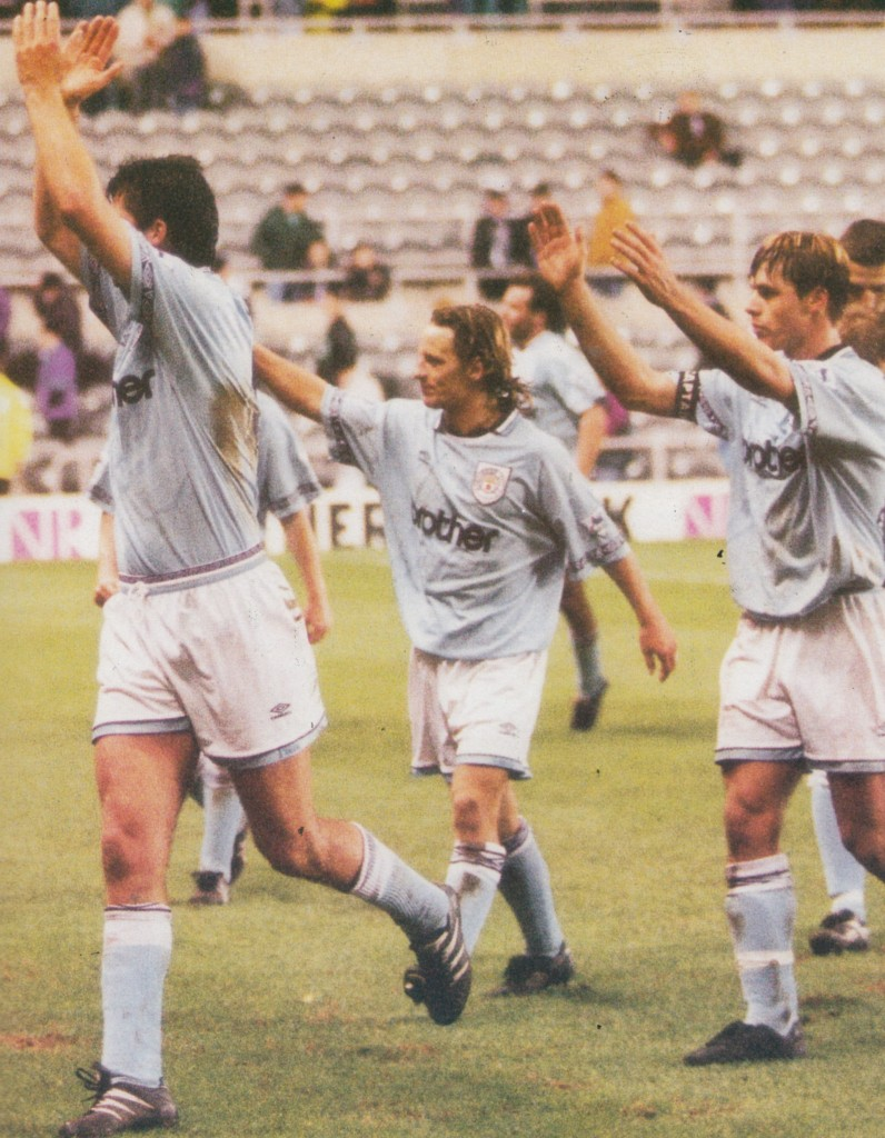 newcastle away lge cup 1994 to 95 action7