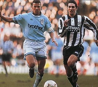 newcastle fa cup 1994 to 95 action2