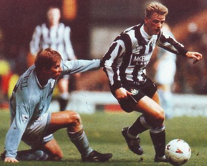 newcastle home cola cup 1994 to 95 action2