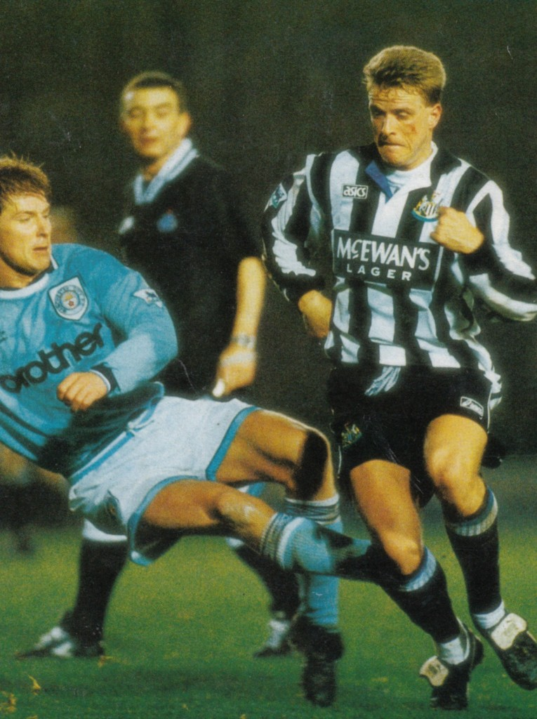 newcastle home lge cup 1994 to 95 action7
