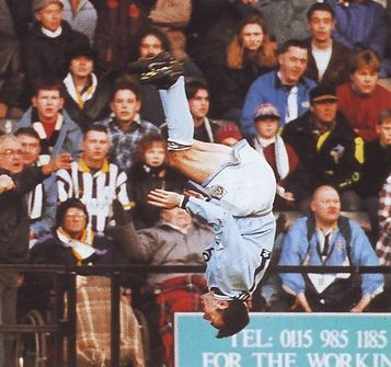 notts county fa cup 1994 to 95 beagrie goal