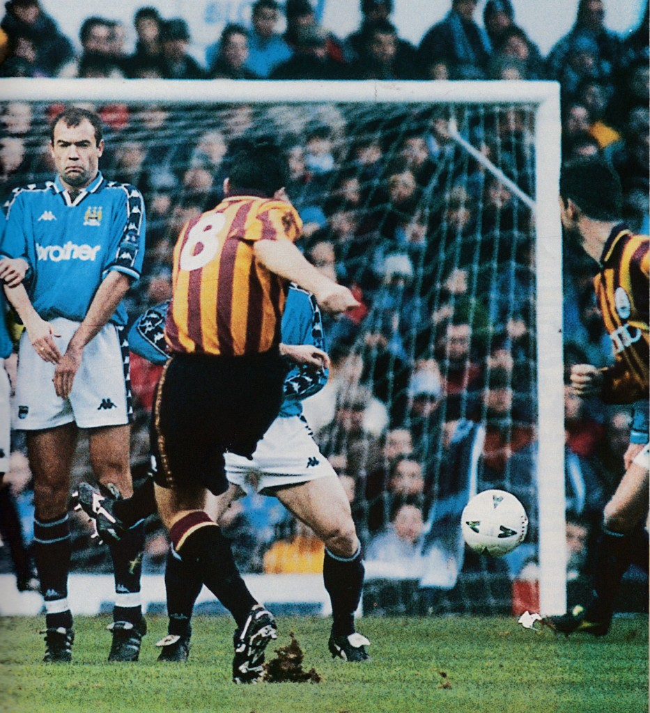 bradford fa cup 1997 to 98 action3