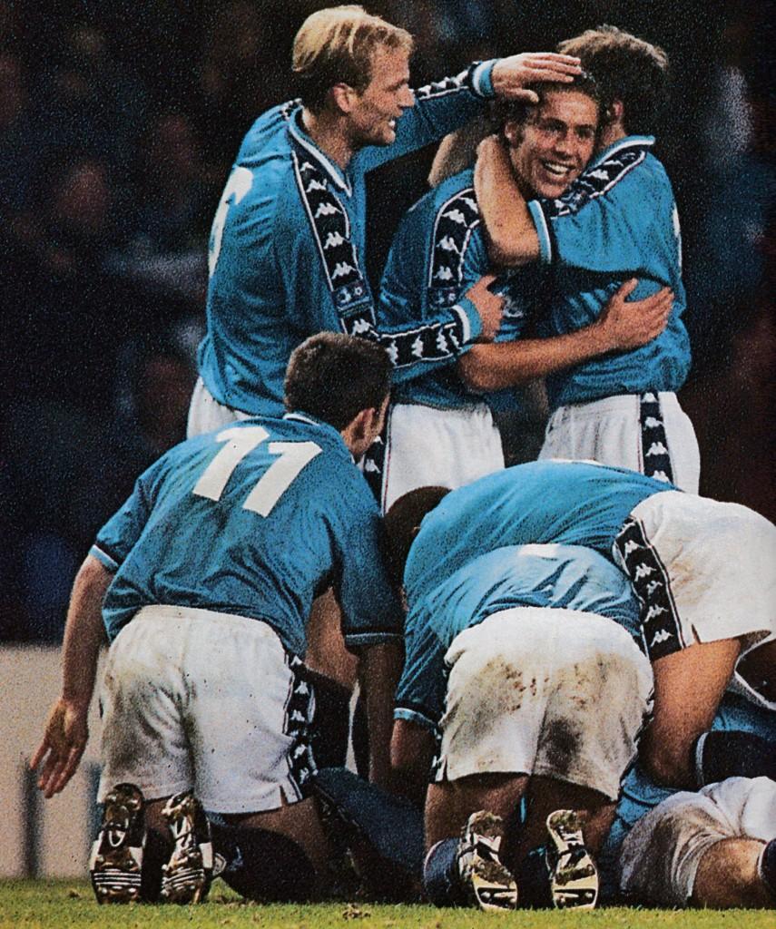 bradford home 1997 to 98 vaughan goal 4