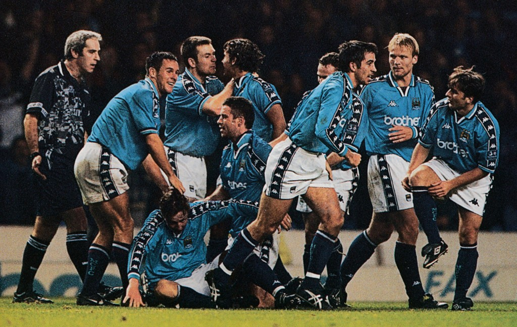 bradford home 1997 to 98 vaughan goal 5