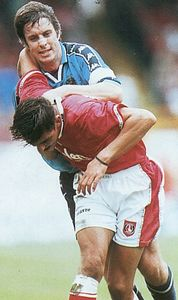 charlton away 1997 to 98 action2