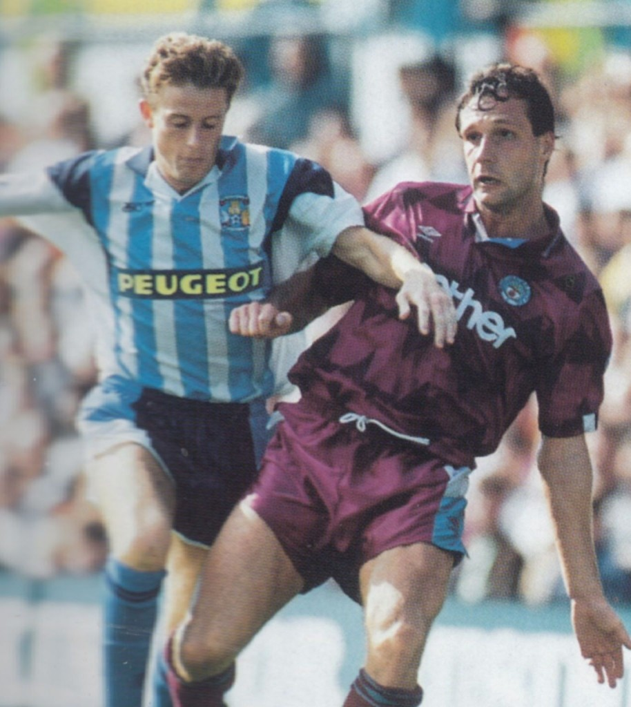 coventry away 1991 to 92 action