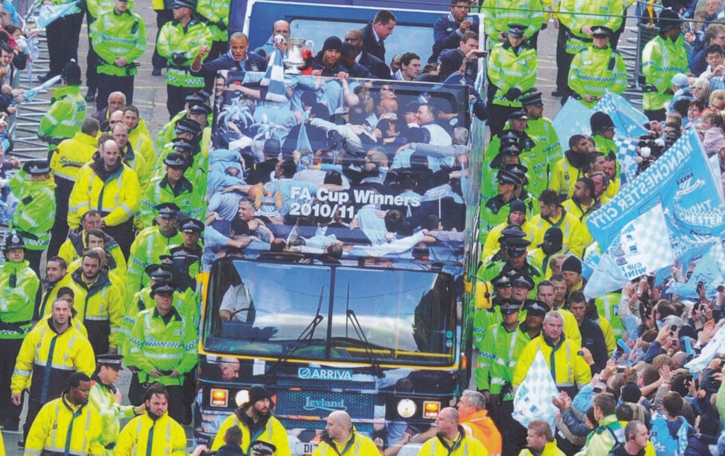 fa cup parade 2010 to 11