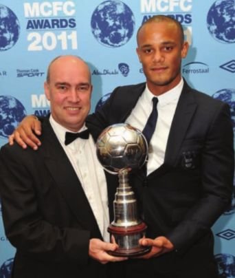 kompany player of the year 2010 to 11