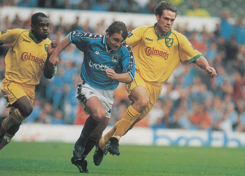 norwich home 1997 to 98 action9