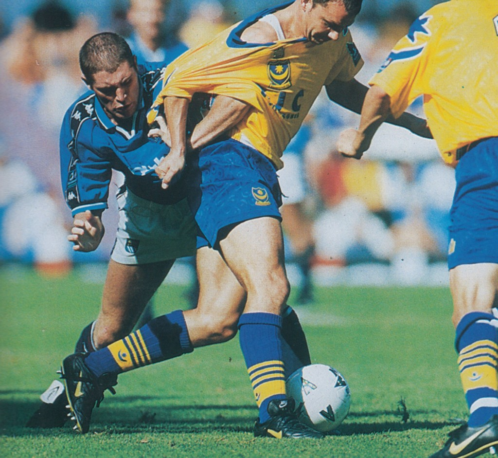 portsmouth home 1997 to 98 action7