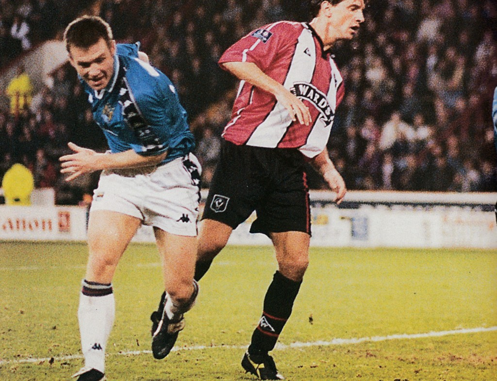 sheff utd away 1997 to 98 action3