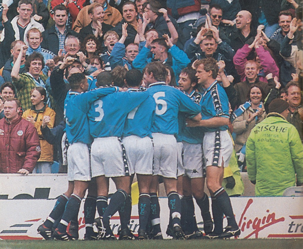 stockport home 1997 to 98 action 5