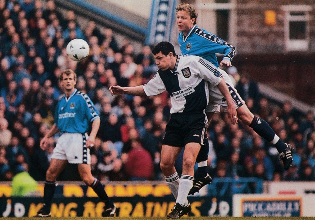 stockport home 1997 to 98 action 8