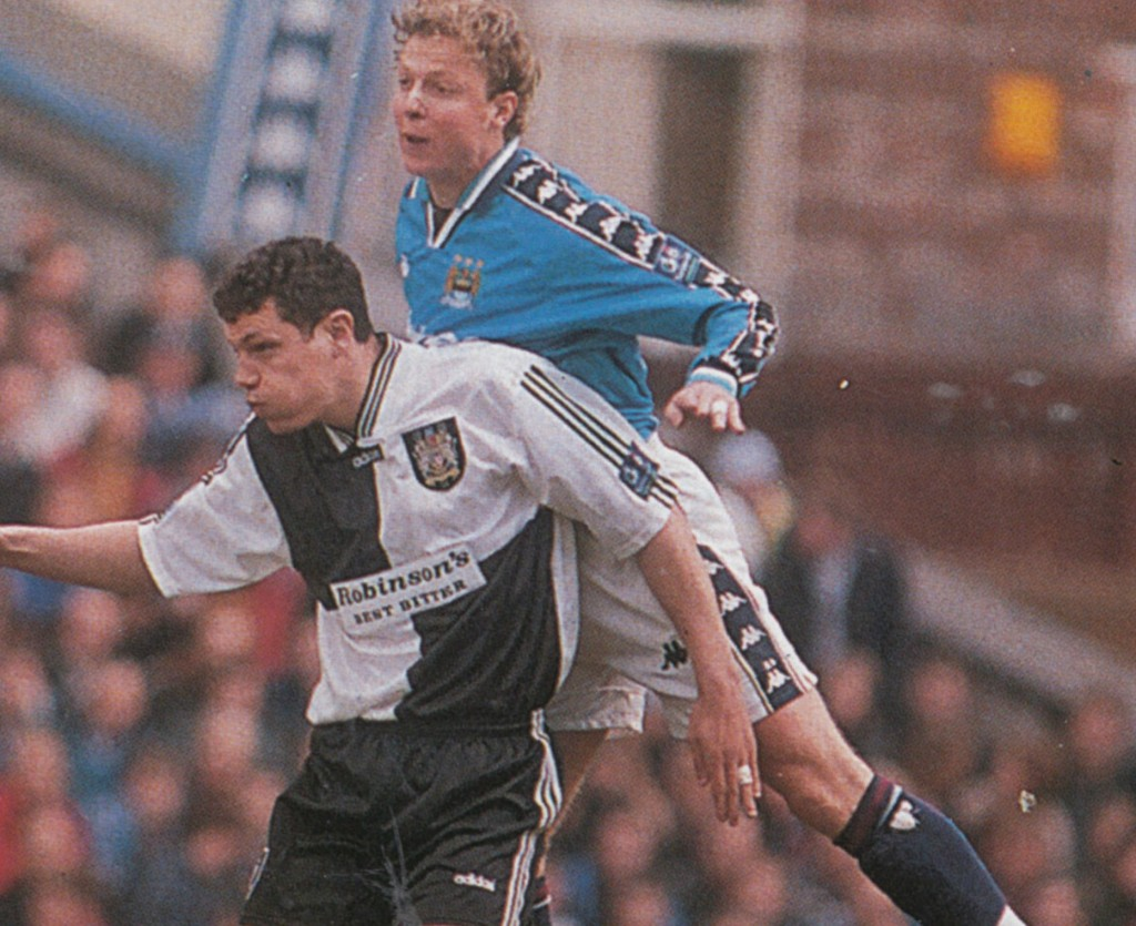 stockport home 1997 to 98 action10
