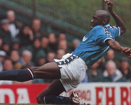 stockport home 1997 to 98 goater goal