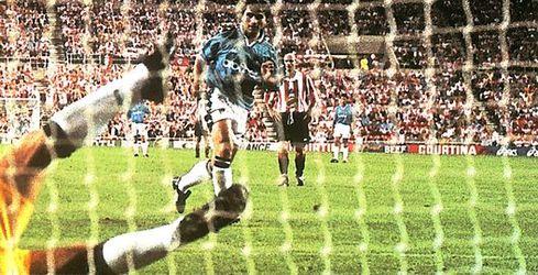 sunderland away 1997 to 98 gio pen goal