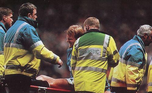 sunderland home 1997 to 98 wiekens injury