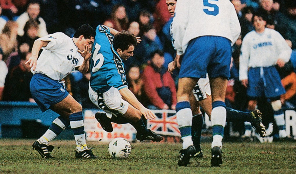 tranmere away 1997 to 98 action5