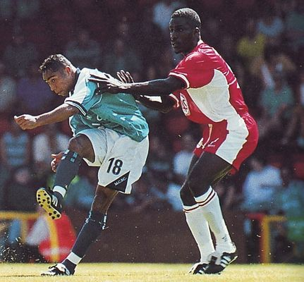 Bristol city friendly 1999 to 00 action2