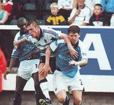 fulham away1999 to00 action2