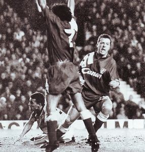 liverpool away 1991 to 92 nicol goal