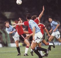 man utd home 1991 to 92 action2
