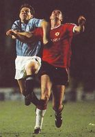 man utd home 1991 to 92 action4