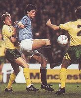 norwich home 1991 to 92 action3