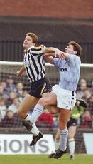 notts county away 1991 to 92 action