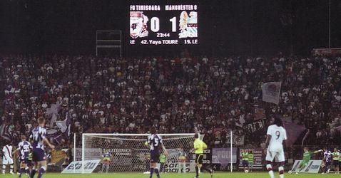 timisoara away 2010 to 11 score
