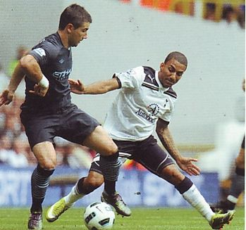 tottenham  away 2010 to 11 action2
