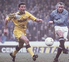 tottenham home 1991 to 92 action