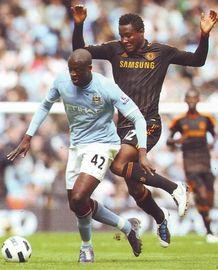 Chelsea home 2010 to 11 action