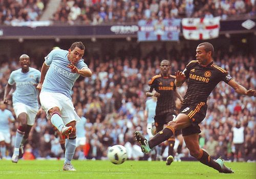 Chelsea home 2010 to 11 tevez goal2