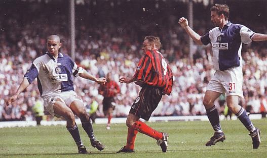 blackburn away 1999 to 2000 dickov goal