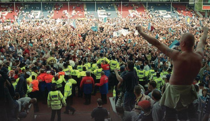 blackburn away 1999 to 2000 fans