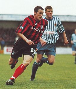 chester fa cup 1999 to 00 action