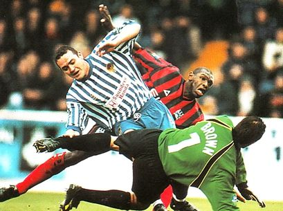 chester fa cup 1999 to 00 goater 1st city goalb