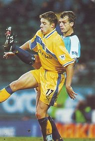 leeds fa cup 1999 to 00 action