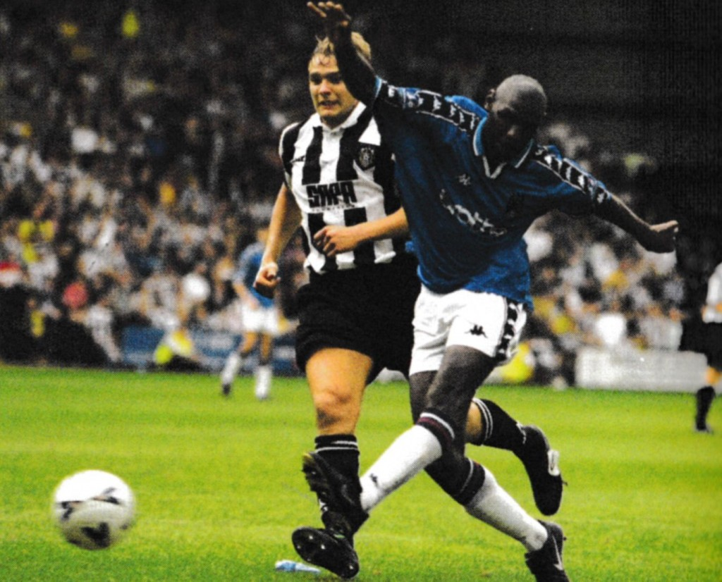 notts county away 1998 to 99 goater goal2