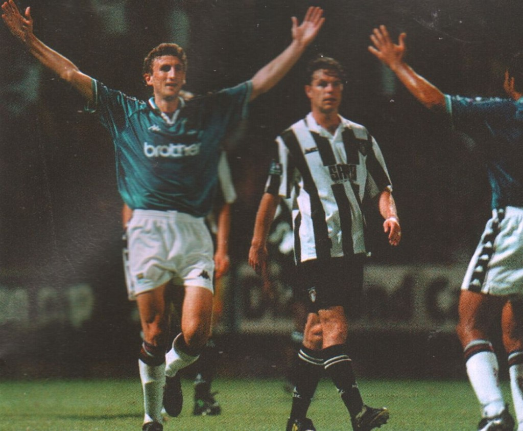 notts county away worthy cup 1998 to 99 Tskhadadze goal