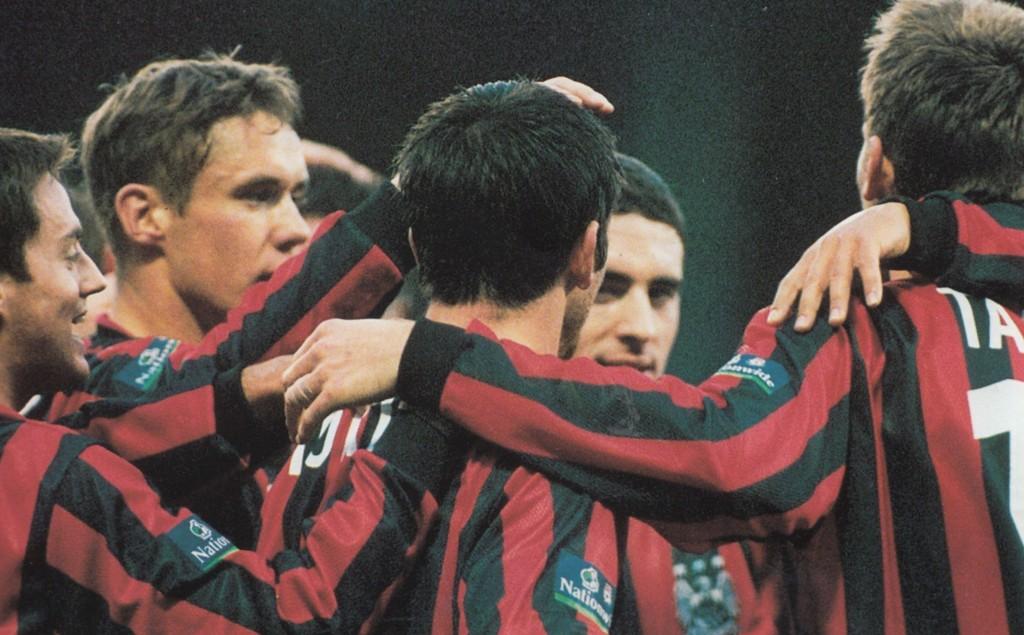 qpr away 1999 to 2000 horlock goal