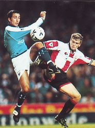 southampton worthington cup home 1999 to 2000  action