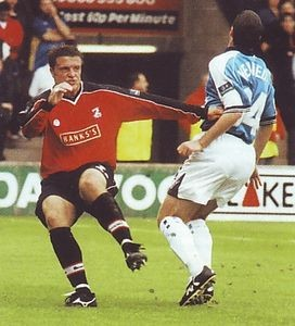 walsall away 1999 to 00 action3