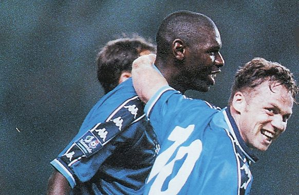 walsall  home 1998 to 89 goater goal