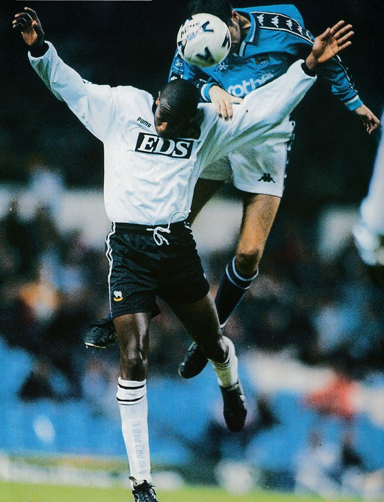 Derby lge cup home 1998 to 99 action4