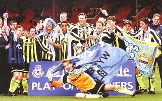 Gillingham playoff final 1998 to 99 team celeb