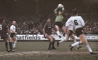 PORT VALE FA CUP 1990 to 91 action